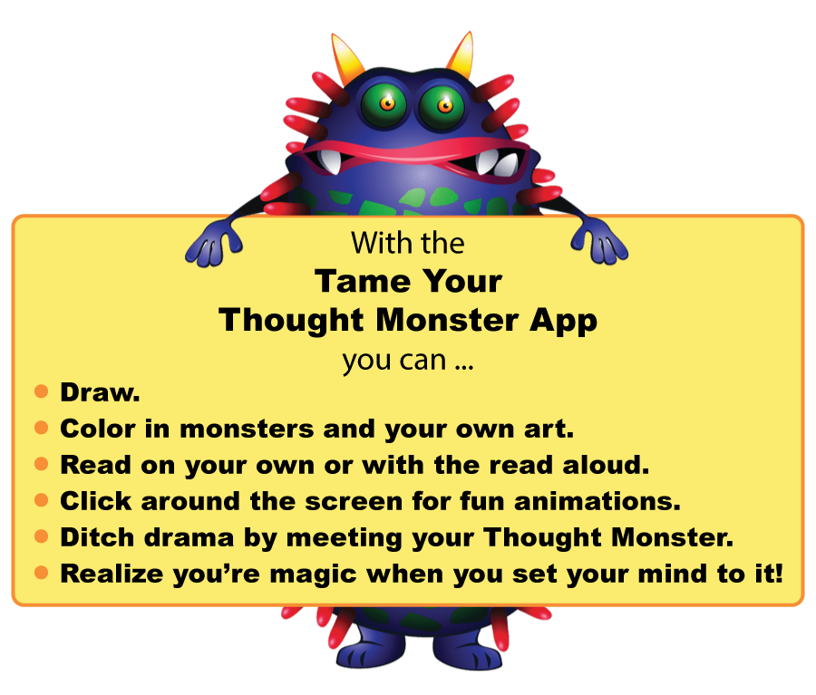 The APP For Taming Thought Monsters